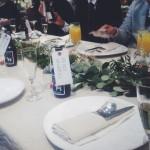 結婚式もシンプルがいいですね@BEARS TABLE